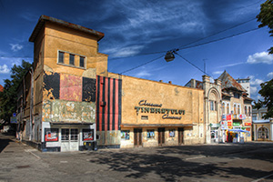 Vintage-cinema-building-in-Iasi---ROMANIA
