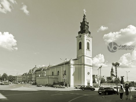 Roman-Catholic-church-Saint-Ladislau-in-Oradea---ROMANIA