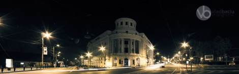 fine-art-photos-for-prints-Night-panorama-of-Central-Library-MIHAI-EMINESCU-in-Iasi-ROMANIA