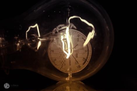 fine-art-photos-for-print-Light-bulb-with-a-Raketa-watch-close-up