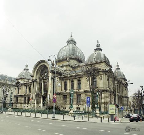CEC-building-in-Bucharest---ROMANIA