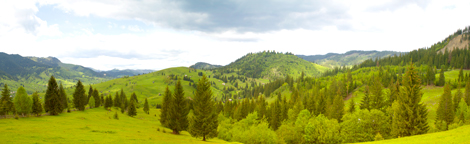 Mountain-panorama-in-Bucovina-county-ROMANIA